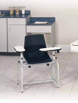 Steel Frame Blood Draw Chair