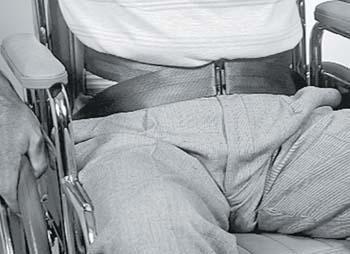 Wheelchair Waist Belt W/ Buckle