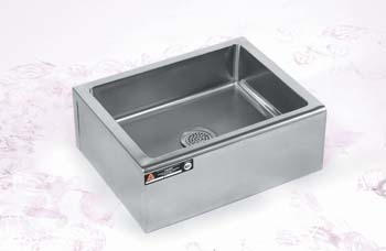 Mop Sink Stainless Steel : Medline Stainless Steel Mop Sink 21 x 16 x 6 1 Each, AER3MP21166