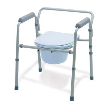 3 In 1 Steel Commode Healthcare Supply Pros