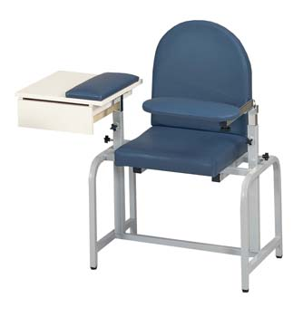 Padded Blood Draw Chair