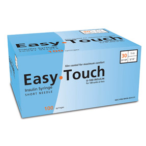 EasyTouch Insulin Syringes