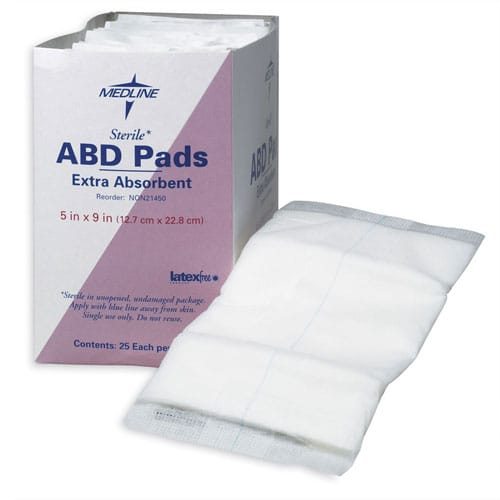 Medline ABD Pads