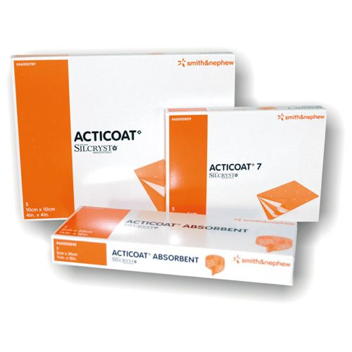 Acticoat™ 7 Day Wound Dressing   Healthcare Supply Pros