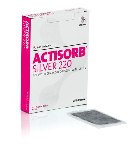 Actisorb® Silver Antimicrobial Dressing   Healthcare ...