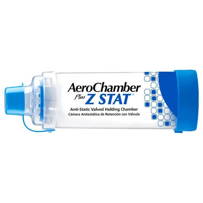 AeroChamber Plus Z Stat aVHC Inhaler Spacer