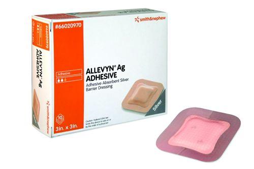 Allevyn™ Ag Adhesive Hydrocellular Dressing