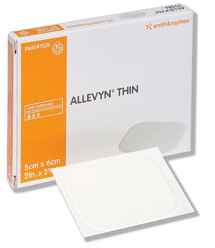 Allevyn™ Thin Gentle Adhesive Dressing