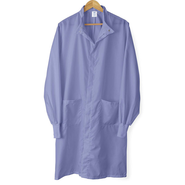 Unisex ASEP A/S Barrier Lab Coat, Ceil Blue