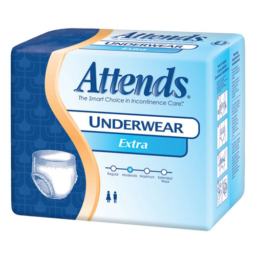 Attends Protective Underwear Extra