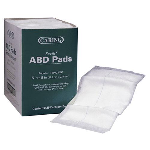 Caring ABD Pads