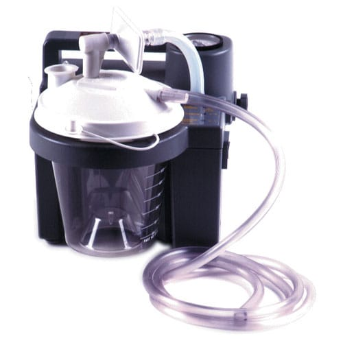 devilbiss suction machine canister
