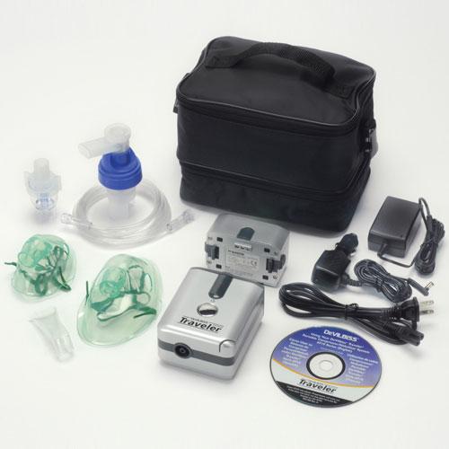 DeVilbiss Traveler Portable Compressor Nebulizer