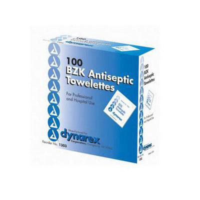 Dynarex BZK Antiseptic Towelette