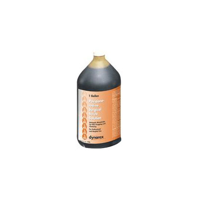 Povidone Iodine Surgical Scrub Solution, Gallon