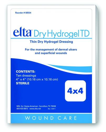 https://woundcare.healthcaresupplypros.com/buy/advanced-wound-care/hydrogels/sheets/elta-dry-hydrogel-td-wound-dressing
