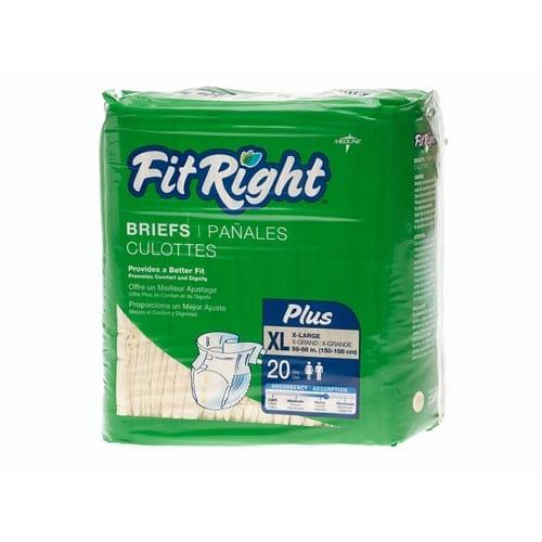 Medline FitRight Plus Briefs