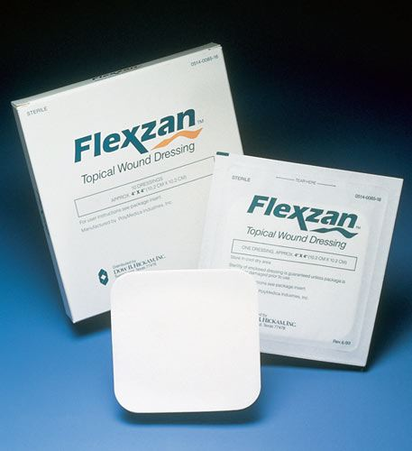 Flexzan® Foam Adhesive Dressing