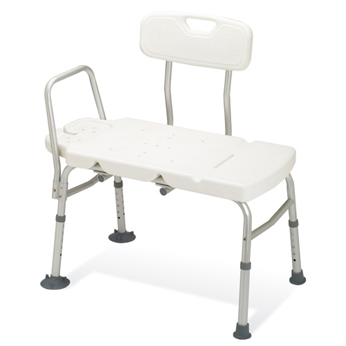 Guardian Guardian Non-Padded Transfer Bench Adjustable 1 Each, G98308A
