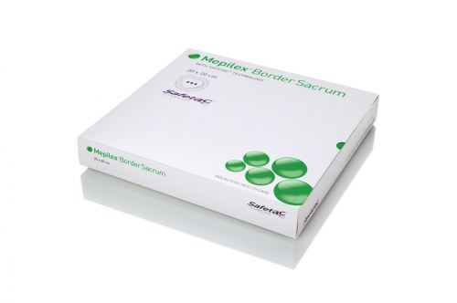 Mepilex® Border Sacrum Foam Dressing