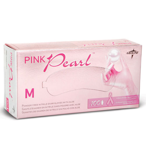 Pink Pearl Nitrile Exam Gloves Healthcare Supply Pros