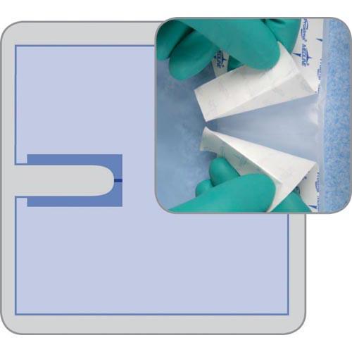 Invisishield PolySurgical U-Drape: , Case of 40 (DYNJSD1015)