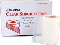 ReliaMed® Clear Surgical Tape