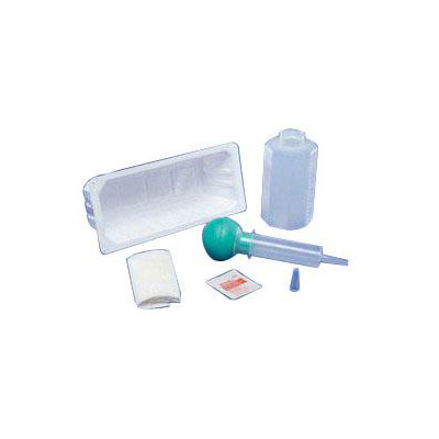 Bulb Syringe Irrigation Tray
