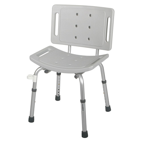 Guardian Easy Care Shower Chair Gray 1 Each, G30402H