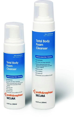 Secura® Total Body Foam Cleanser