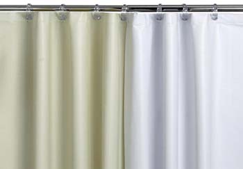 Medline Spring Shower Curtain White Stall 36 X 72 1 Each