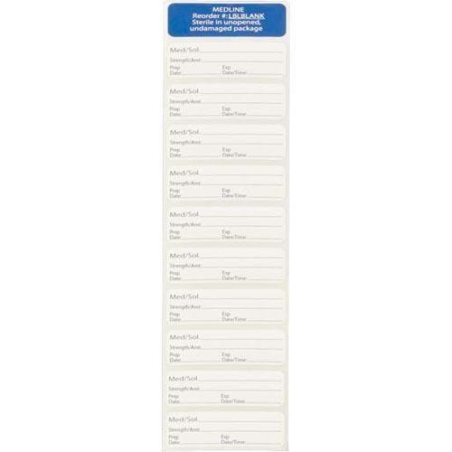 Sterile O.R. Labels