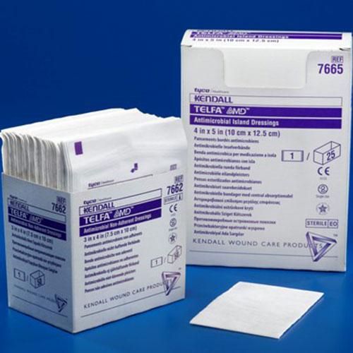 Telfa amd antimicrobial non adherent dressings - Elfa dressing ...