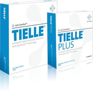 Tielle® Plus Hydropolymer Foam Dressing