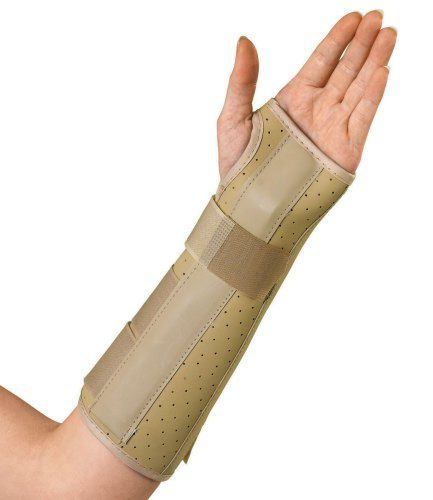 how to fix forearm splints